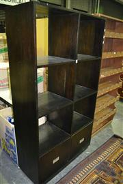 Sale 8093 - Lot 1470 - Open Bookcase