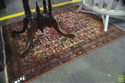 Sale 8359 - Lot 1747 - Carpet in Red with Central Medallion (104 x 145cm)