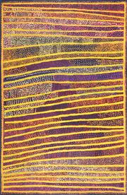 Sale 8808 - Lot 518 - Shorty Robertson Jangala (c1930 - 2014) - Water Dreaming 183 x 121cm (stretched and ready to hang)