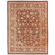 Sale 8840C - Lot 11 - An Afghan Fine Revival Tabriz Design Carpet, Handspun Ghazni Wool, 370 x 280cm