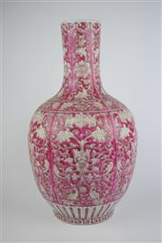 Sale 8384 - Lot 91 - Oriental Vase Floral Decoration