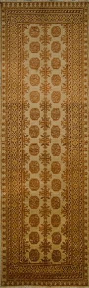 Sale 8439C - Lot 24 - Afghan Turkman Runner 279cm x 86cm