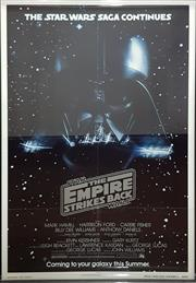 Sale 8566 - Lot 1123 - Original The Empire Strikes Back Teaser Poster (103.5 x 67cm inner frame)