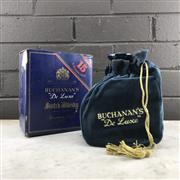 Sale 8976W - Lot 54 - 1x Buchanans De Luxe 15YO Blended Scotch Whisky - old bottling, ceramic crock with stopper, in box