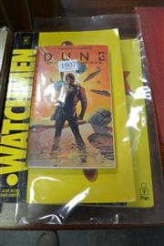 Sale 8013 - Lot 1807 - 4 Comic Books incl. Dune; The Power of Iron Man; Watchmen; The Golden Years of Ginger Meggs