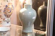 Sale 8273 - Lot 87 - Song Longquan Celadon Vase Retailed for John Sparks Ltd