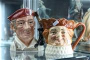 Sale 8276 - Lot 49 - Royal Doulton Character Jugs