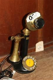 Sale 8351 - Lot 83 - Brass Telephone