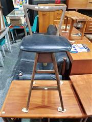 Sale 8930 - Lot 1035 - T H Brown Bar Stool
