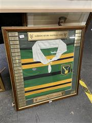Sale 8990 - Lot 2099 - A Framed Gordon Rugby Jersey Commemorating their Australian Representative Players (Edition 6 of 30)