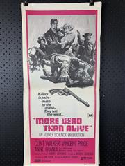 Sale 9003P - Lot 65 - Vintage Movie Poster - More Dead Than Alive