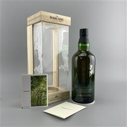 Sale 9089W - Lot 26 - The Hakushu Distillery 18YO Single Malt Japanese Whisky - limited edition, 43% ABV, 700ml in presentation box with slip cover