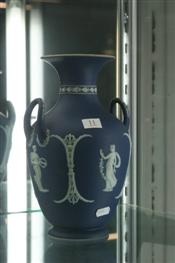 Sale 7877 - Lot 11 - Wedgwood Jasper Ware Vase