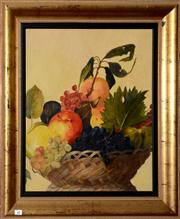 Sale 8088A - Lot 69 - Pair of period style still lifes in gilt frames. Oil on board each 60 x 50cm
