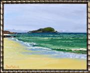 Sale 8325A - Lot 49 - David Badcock (1960 - ) - Great Keppel Island 26 x 36cm