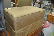 Sale 8331 - Lot 1387 - Upholstered Ottoman