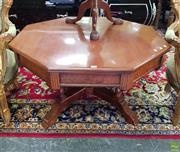 Sale 8566 - Lot 1391 - Hexagonal Coffee table (56 x 98)