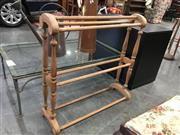 Sale 8782 - Lot 1714 - Timber Towel Rail