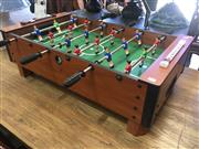 Sale 8839 - Lot 1360 - Table Top Soccer Game