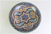 Sale 8940T - Lot 643 - Large Morrocan Centrebowl Dia 39cm