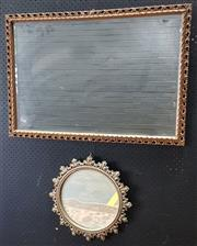 Sale 9009 - Lot 1065 - Mirrors x 2 in Moulded Frames