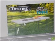 Sale 8478 - Lot 2131 - Three Modern Fold Out Trestle Tables