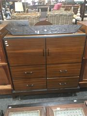 Sale 8740 - Lot 1405 - Art Deco Fitted Cabinet