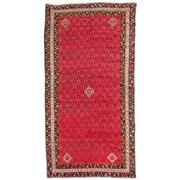 Sale 8890C - Lot 59 - Persian Antique Afshar Rug C1940, 236x120cm, Handspun Wool