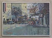 Sale 8266 - Lot 532 - John Tiplady (1938 - ) - MacLeay Street, Kings Cross, 1970 58 x 83cm