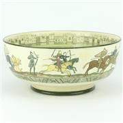 Sale 8332 - Lot 88 - Royal Doulton Bayeux Tapestry Bowl