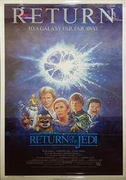 Sale 8566 - Lot 1129 - Original The Return of the Jedi Teaser Poster (103.5 x 67cm inner frame)