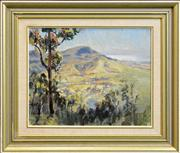 Sale 8363 - Lot 595 - Henry Edgecombe (1881 - 1954) - View to Stanwell Top 30 x 37cm