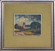 Sale 8394 - Lot 569 - George Feather Lawrence (1901 - 1981) - Untitled (Forrest Castle) 20 x 25.5cm