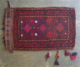 Sale 9137 - Lot 1016 - Hand knotted pure wool Persian pillow case (80 x 50cm)