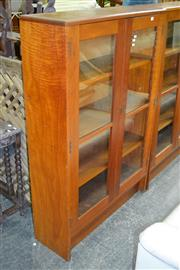 Sale 7987A - Lot 1260 - Bookcase with 2 Glass Doors