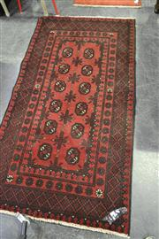 Sale 8134 - Lot 1083 - Afghan Hand Knotted Turkoman (100x200cm)