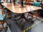 Sale 8676 - Lot 1025 - Georgian Style Extension Dining Table
