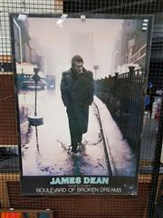 Sale 8699 - Lot 2088 - James Dean Poster