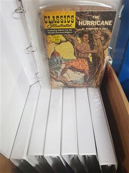 Sale 9152 - Lot 2434 - 7 Binders of Various Classics Illustrated