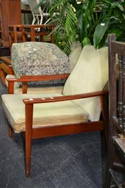 Sale 7987A - Lot 1273 - Pair of Parker Style Armchairs
