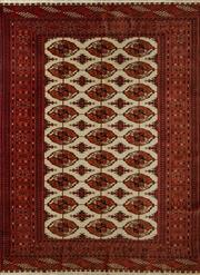 Sale 8406C - Lot 5 - Persian Silk Base Turkman 177cm x 131cm