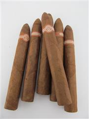 Sale 8411 - Lot 606 - 6x Montecristo No.2 Cigars, Havana - loose cigars removed from humidor, 15.5cm