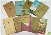 Sale 8900 - Lot 93 - Collection of Car Booklets incl. Chevrolet Motor Car; General Motors New Australian Car; The Care of Your Car, 1926; etc