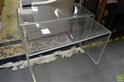 Sale 8515 - Lot 1088 - Set of Four Perspex Side Tables