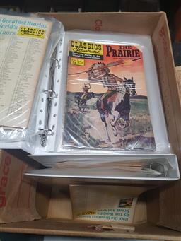 Sale 9152 - Lot 2368 - 8 Binders of Various Classic Illustrated