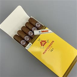 Sale 9182W - Lot 864 - Montecristo No.4 Cuban Cigars - pack of 5 cigars, removed from box stamped September 2019