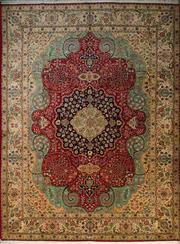 Sale 8406C - Lot 6 - Persian Tabriz 385cm x 290cm