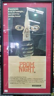 Sale 8566 - Lot 1016 - Original Prom Night Movie Poster