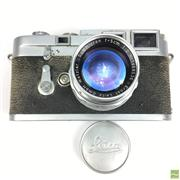 Sale 8648A - Lot 2 - Leica M3-750865 Camera