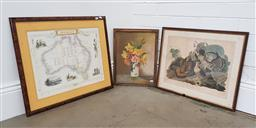 Sale 9254 - Lot 2055 - Collection of 3 Prints